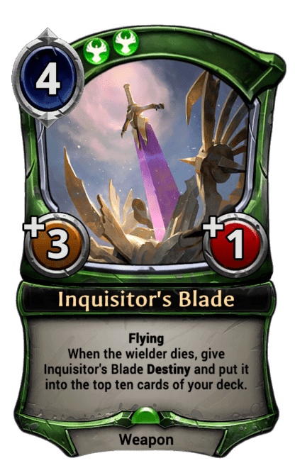 Card image for Inquisitor's Blade