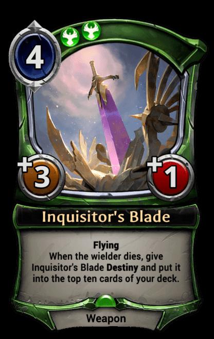 Inquisitor's Blade