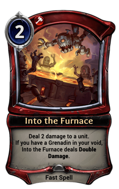 Card image for Into the Furnace