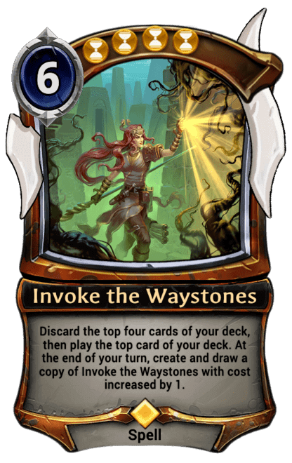 Card image for Invoke the Waystones