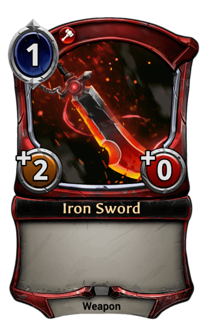 Card image for Iron Sword