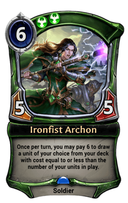 Card image for Ironfist Archon