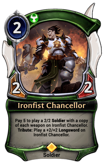 Card image for Ironfist Chancellor