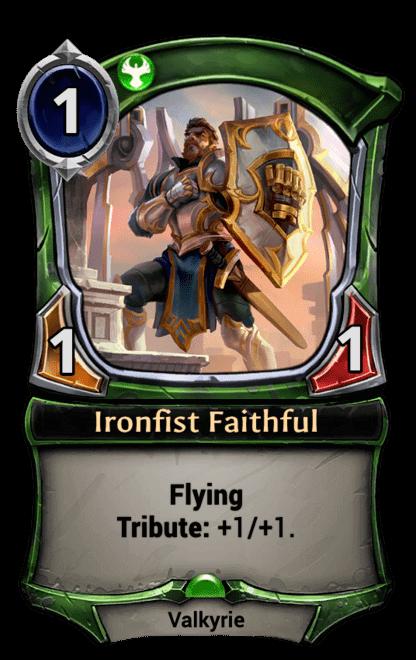 Card image for Ironfist Faithful