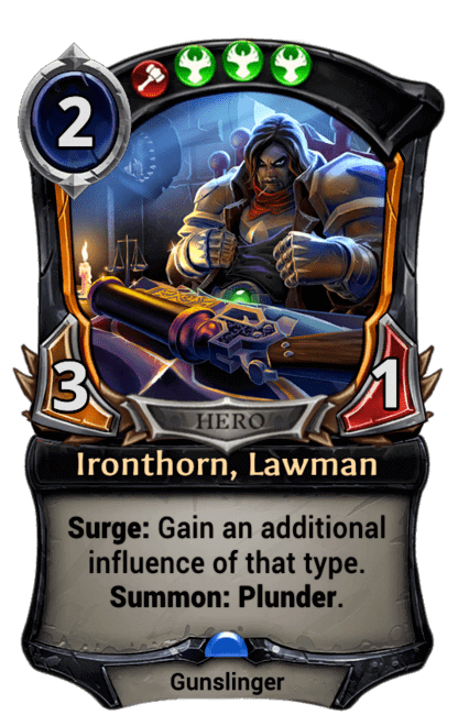 Card image for Ironthorn, Lawman