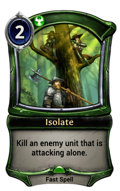 Card image for Isolate