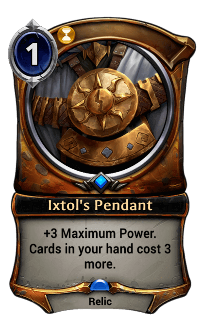 Card image for Ixtol's Pendant