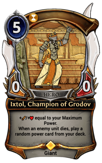 Card image for Ixtol, Champion of Grodov