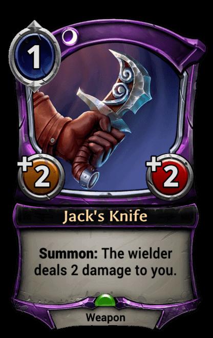 Card image for Jack's Knife