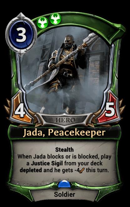 Card image for Jada, Peacekeeper