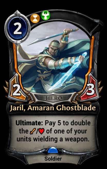 Card image for Jaril, Amaran Ghostblade