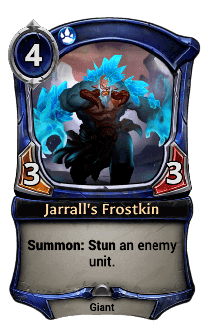 Card image for Jarrall's Frostkin