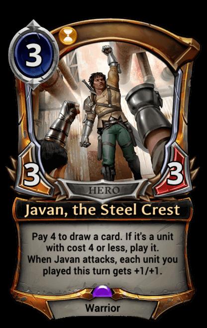 Card image for Javan, the Steel Crest