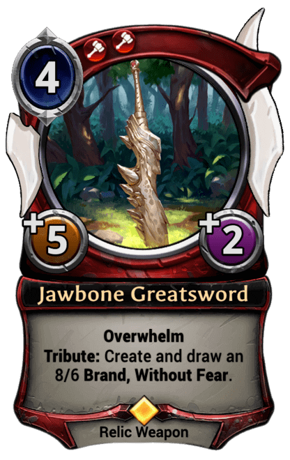 Card image for Jawbone Greatsword