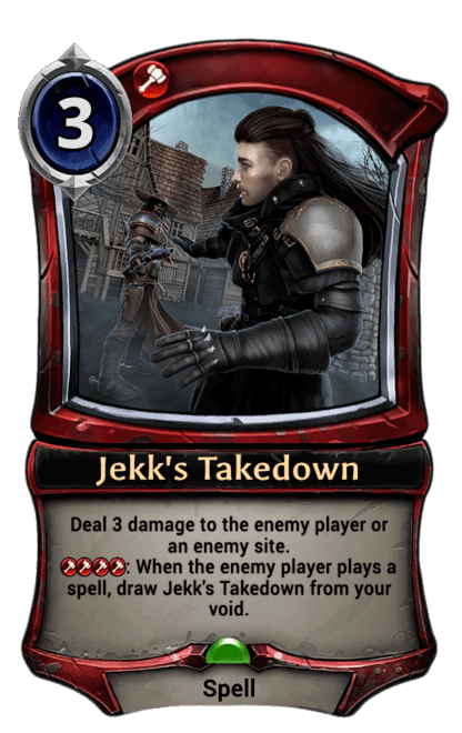 Card image for Jekk's Takedown