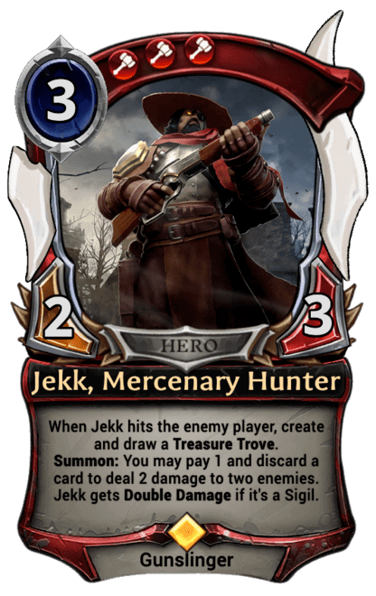Card image for Jekk, Mercenary Hunter