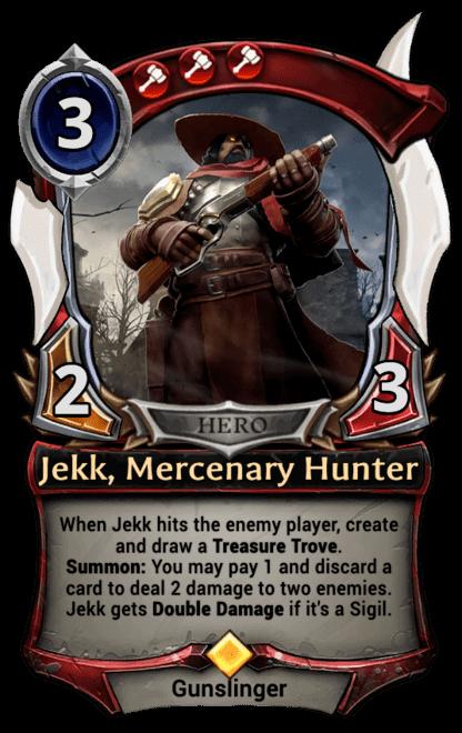 Card image for Jekk, Mercenary Hunter