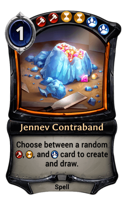 Card image for Jennev Contraband