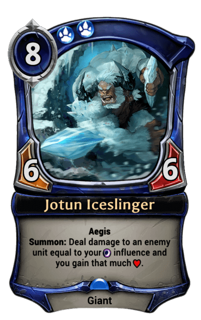 Card image for Jotun Iceslinger