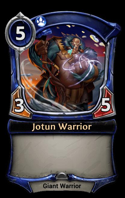 Card image for Jotun Warrior