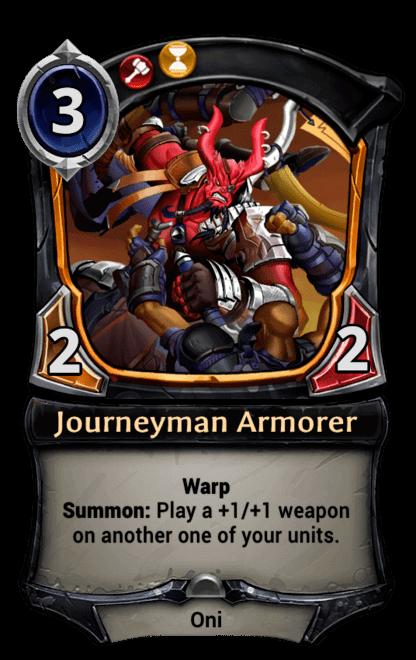 Card image for Journeyman Armorer