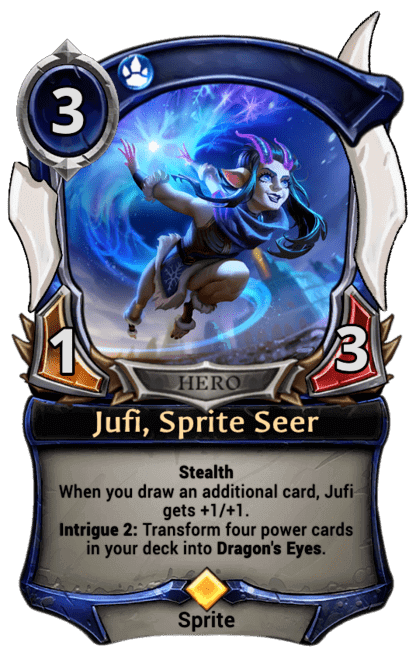 Card image for Jufi, Sprite Seer