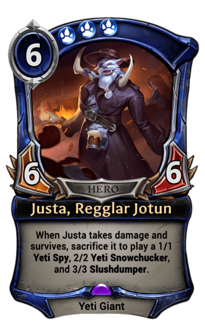 Card image for Justa, Regglar Jotun