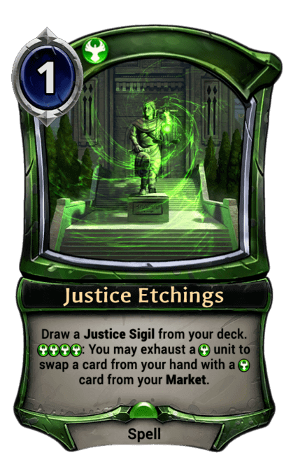 Card image for Justice Etchings
