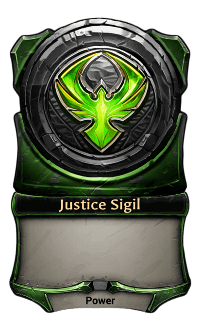 Card image for Justice Sigil