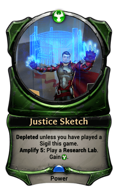 Card image for Justice Sketch