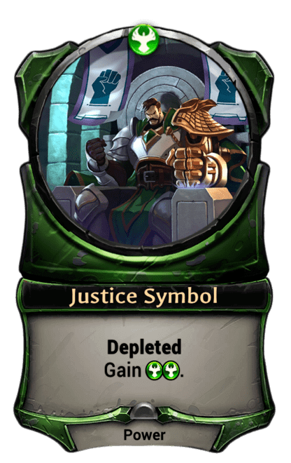 Card image for Justice Symbol
