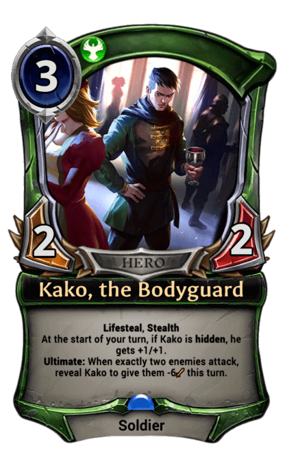 Card image for Kako, the Bodyguard
