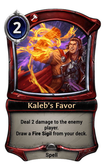Card image for Kaleb's Favor