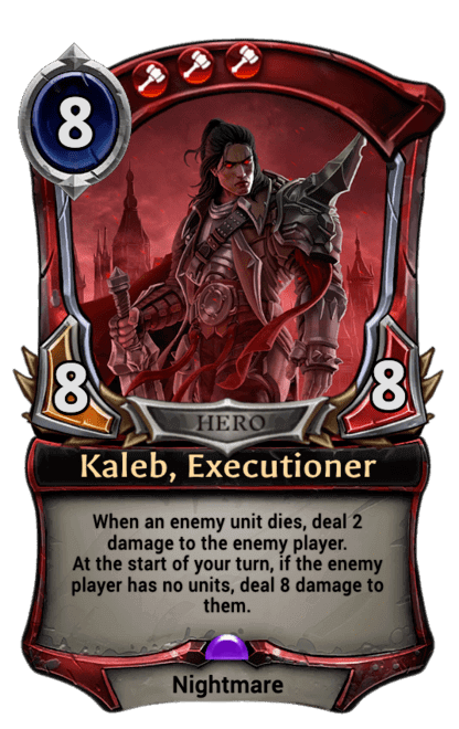 Card image for Kaleb, Executioner