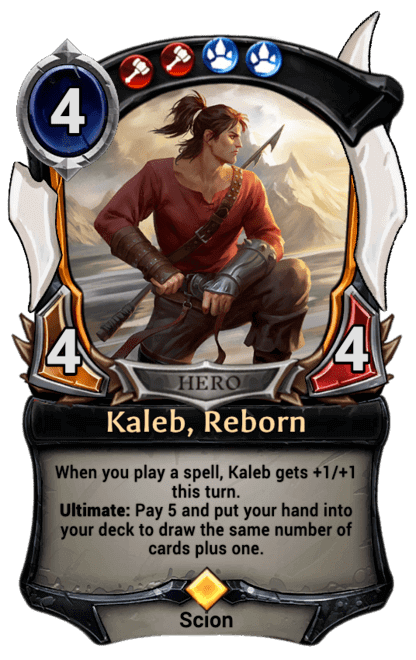 Card image for Kaleb, Reborn