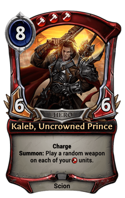 Card image for Kaleb, Uncrowned Prince