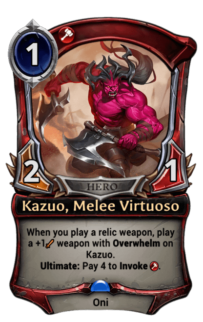 Card image for Kazuo, Melee Virtuoso