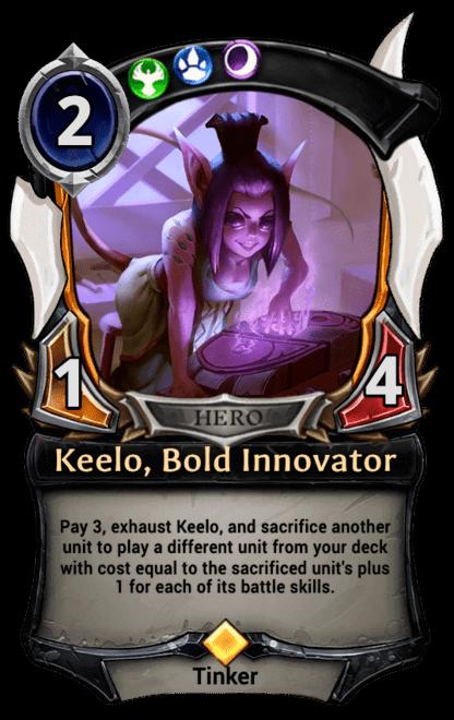 Card image for Keelo, Bold Innovator