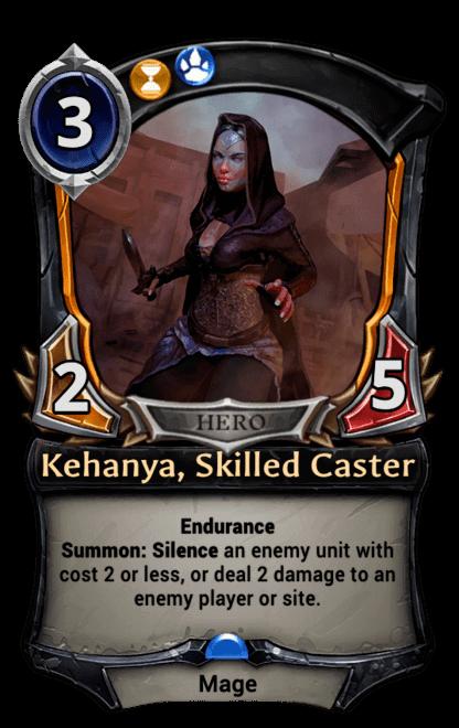 Card image for Kehanya, Skilled Caster