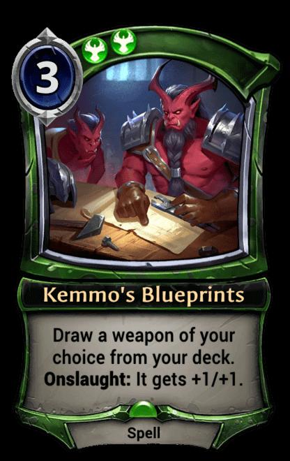 Card image for Kemmo's Blueprints