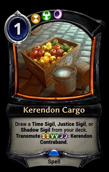 Card image for Kerendon Cargo