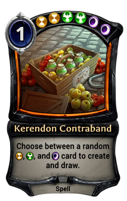 Card image for Kerendon Contraband