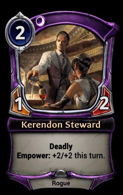 Card image for Kerendon Steward