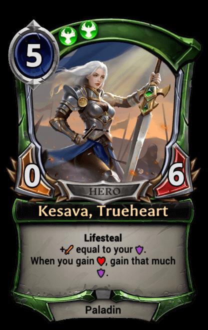 Card image for Kesava, Trueheart