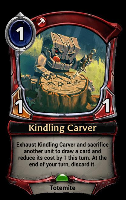 Card image for Kindling Carver