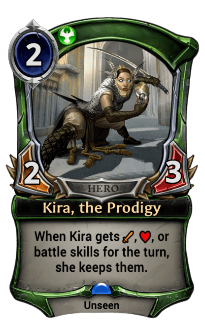 Card image for Kira, the Prodigy