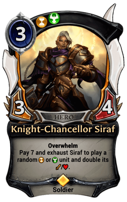 Card image for Knight-Chancellor Siraf
