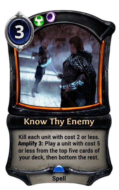 Card image for Know Thy Enemy