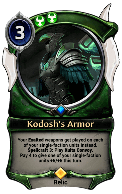 Card image for Kodosh's Armor