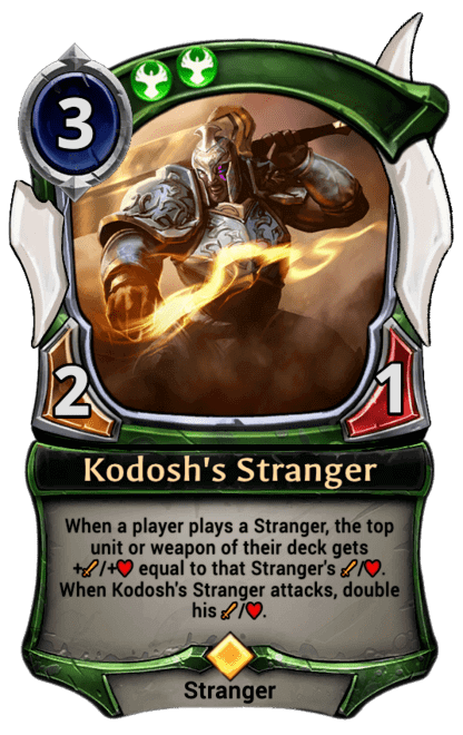 Card image for Kodosh's Stranger